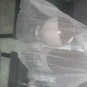 Bachelorette party veil and sash